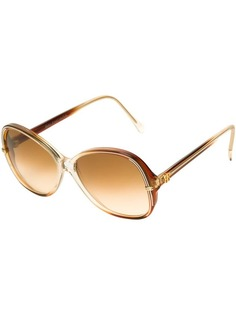 солнцезащитные очки 'бабочка' Balenciaga Vintage