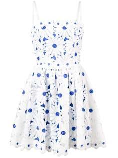 платье с аппликацией в форме цветов Alice+Olivia