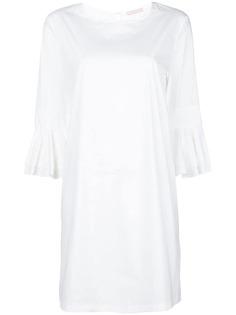 короткое платье с рукавами с воланами Kristina Ti