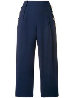 укороченные брюки в морском стиле DKNY