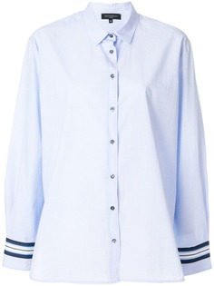 рубашка с длинными рукавами с контрастными полосками Antonelli