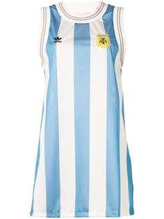 Adidas Originals платье-майка в полоску 'Argentina' Adidas