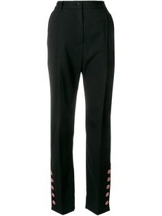 брюки на завышенной талии Dolce & Gabbana