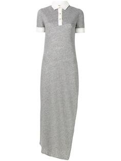 платье в виде удлиненной рубашки-поло Loewe