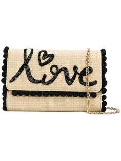 плетеная сумка на плечо 'Love' Dolce & Gabbana