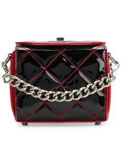 стеганая сумка через плечо Alexander McQueen