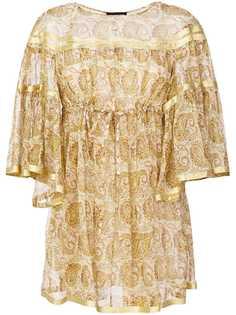 мини-платье с завышенной талией Twin-Set
