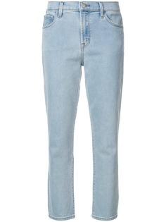 облегающие укороченные джинсы J Brand