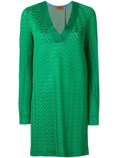 платье свободного кроя с V-образным вырезом Missoni
