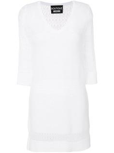 трикотажное платье Boutique Moschino