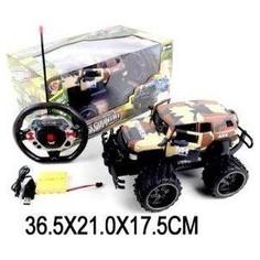 Радиоуправляемая машина HB 666 военный, 5 каналов, откр.двери, свет, аккум, USB зу - 1821-6