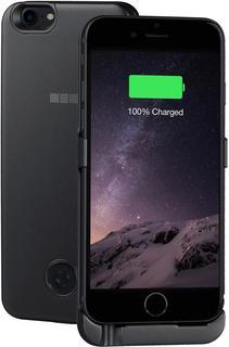 Чехол-аккумулятор InterStep Power 3000 мАч для Apple iPhone 6/6S/7/8 (черный)
