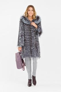 Облегченная шуба из чернобурки Virtuale Fur Collection