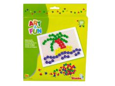 Настольная игра Simba Мозаика Art & Fun 130 дет. 66970 / 6302961