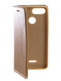 Аксессуар Чехол для Xiaomi Redmi 6A Gurdini Premium Silicone Magnetic Champagne