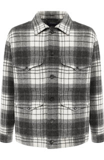 Шерстяная куртка на пуговицах с отложным воротником Ralph Lauren