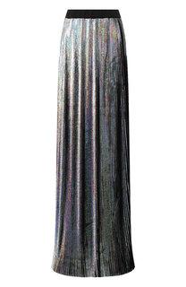 Плиссированная юбка-макси Balmain