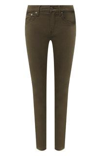 Однотонные джинсы-скинни Polo Ralph Lauren