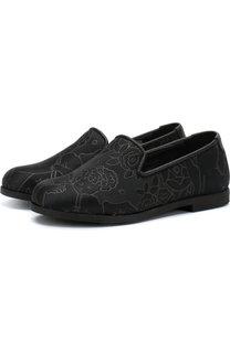 Текстильные слиперы Dolce & Gabbana