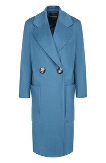 Пальто из смеси шерсти и кашемира Erika Cavallini