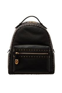 Черный рюкзак с заклепками Coach