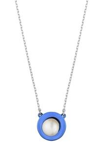 Колье с жемчужной подвеской Serebriciti Jewelry