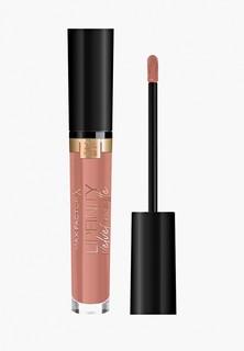 Помада Max Factor Lipfinity Velvet Matte, тон 040, luxe nude