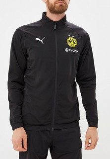 Олимпийка PUMA BVB Poly Jacket with Sponsor Logo with 2 side pockets with z