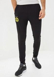 Брюки спортивные PUMA BVB Training Pants tapered with pockets with zippers