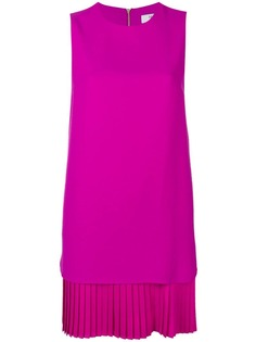 платье шифт с плиссировкой Blugirl