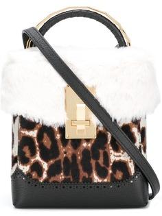 леопардовая мини-сумка The Volon