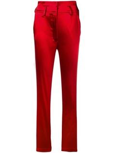 брюки узкого кроя с завышенной талией Dolce & Gabbana