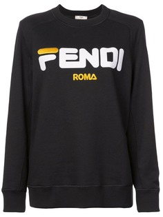 джемпер с принтом логотипа Fendi