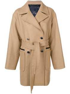 пальто миди на пуговицах Fay