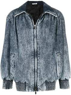 джинсовая куртка Miu Miu
