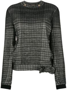 блузка с длинным рукавом Louis Vuitton Vintage
