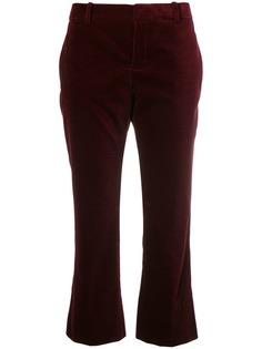 укороченные классические брюки Saint Laurent