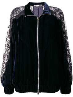 куртка-бомбер с кружевными панелями Stella McCartney