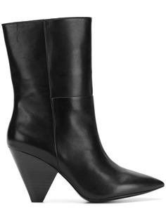 tapered heel ankle boots Ash