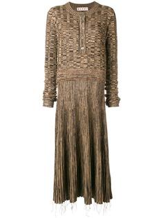 платье с приспущенной талией Marni