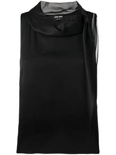 блузка без рукавов Giorgio Armani