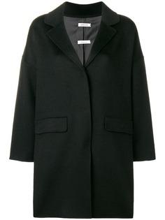 однобортное пальто в стиле оверсайз P.A.R.O.S.H.