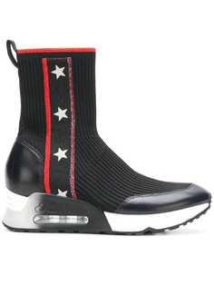 Liberty hi-top sock sneakers Ash