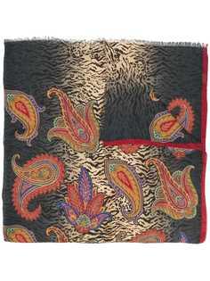 paisley print scarf Etro
