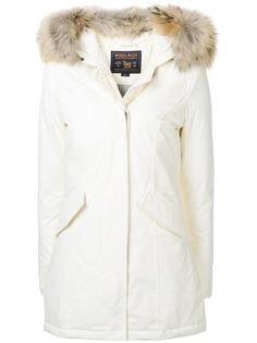пуховое пальто с длинными рукавами Woolrich