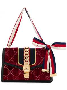 маленькая сумка на плечо 'Sylvie GG' Gucci