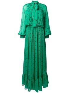 polka dot long dress MSGM