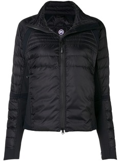 hooded fitted jacket Canada Goose