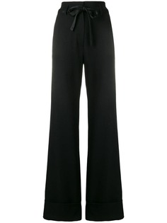 flared tailored trousers Ann Demeulemeester