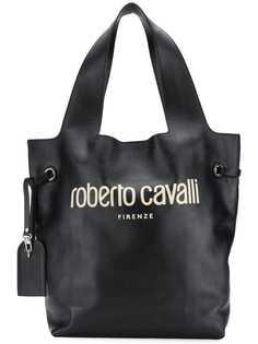 сумка-хобо с логотипом Roberto Cavalli